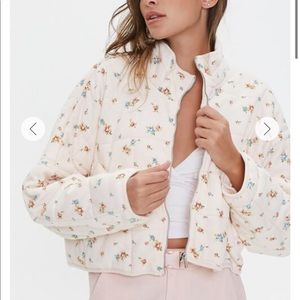 Free People Ditsy Quilted Dolman Jacket DUPE